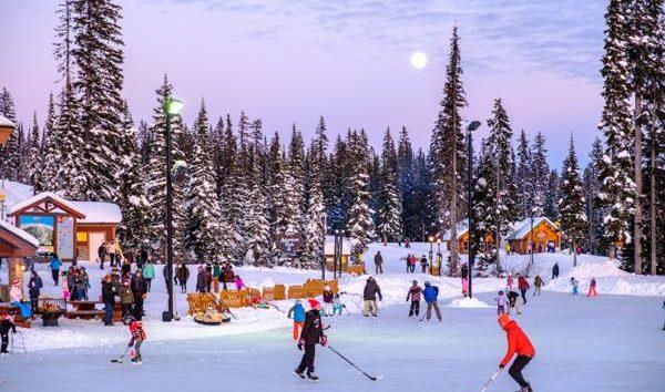 Get your skates on at Big White's winter wonderland