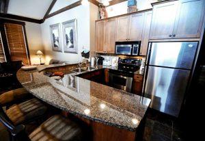 Stonebridge lodge kitchen