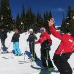 Fun Ski activities with friends at Stonebridge