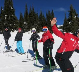 Fun Ski activities with friends at Stonebridge