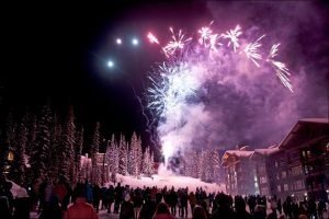 Fireworks celebration at Stonebridge Lodge
