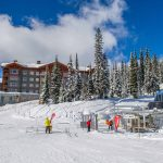 Ski to the chairlift from Stonebridge - Credit - Credit Andrew Jay