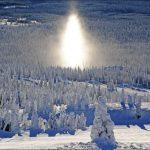 SunDog, a snowy phenomena, seen often at Big White whilst skiing.