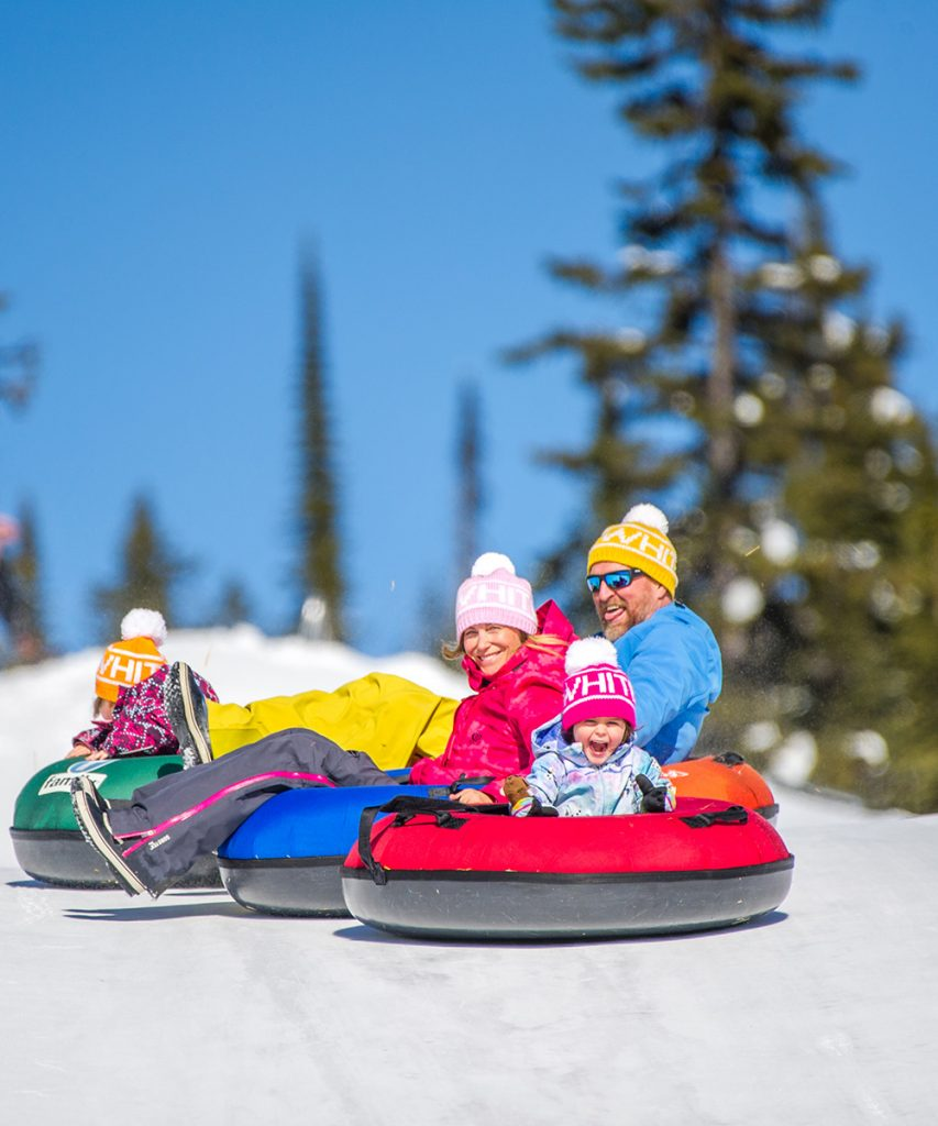 Tubing - fun for the whole family