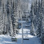 Chairlift at Big White Ski Resort