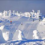 Ski trails at Stonebridge Big White