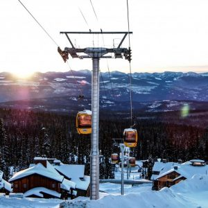 Big White Ski Resort Gondola