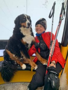Even your fuzzy friends love it if you take them along at Big White