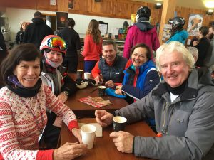 Dine together after you ski together at Big White