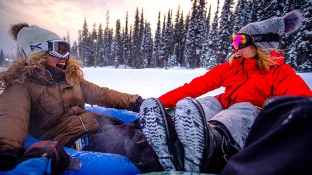 Tubing Fun Credit Big White Ski Resort
